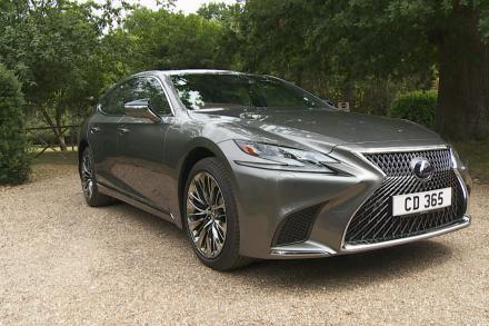 Lexus Ls Saloon 500h 3.5 [359] Takumi 4dr CVT Auto [Pleat pack]