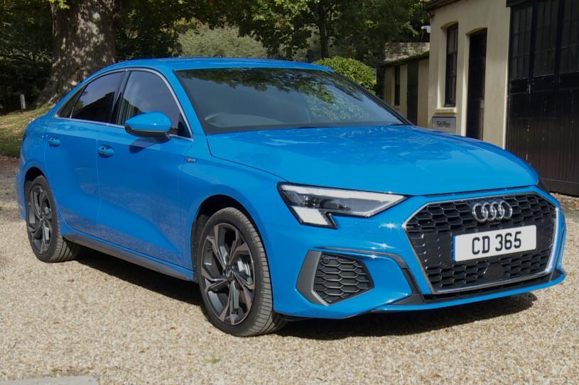 Audi A3 Saloon 35 TFSI S line 4dr [Comfort+Sound]