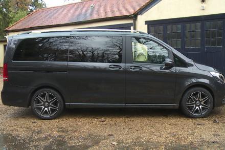 Mercedes-Benz V Class Diesel Estate V300 d 237 AMG Line 5dr 9G-Tronic [Long]